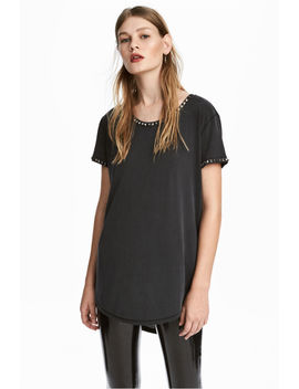 T Shirt With Studs by H&M