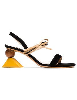 Multicoloured Les Sandales Valparaiso 60 Suede Sandalshome Women Shoes Sandals by Jacquemus