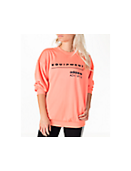Women's Adidas Originals Eqt Crew Sweatshirt by Adidas