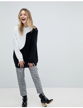 Monki – Übergroßes Sweatshirt by Monki