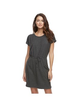 Women's Sonoma Goods For Life™ Soft Touch T Shirt Dress by Kohl's