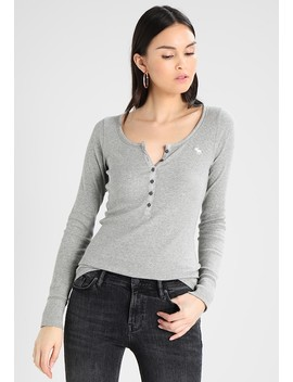 Marketed Henley   Longsleeve by Abercrombie & Fitch