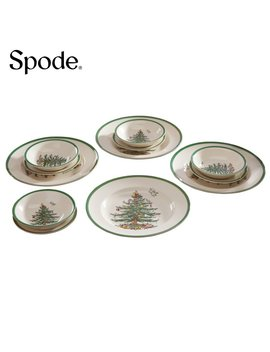 Spode Christmas Tree 12 Piece Dinner Set by Amazon