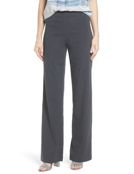 Traveling Linen Blend Stretch Pants by Nic+Zoe