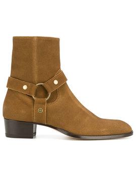 Classic Wyatt 40 Harness Bootshome Men Shoes Boots by Saint Laurent