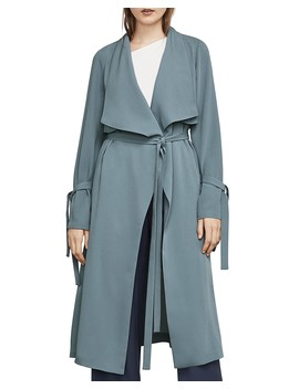 Samara Draped Trench Coat by Bcbgmaxazria