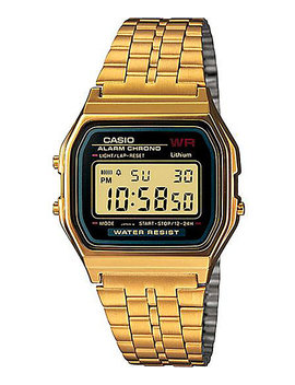 Casio A159 Wgea 1 Vt Vintage Black &Amp; Gold Watch by G Shock
