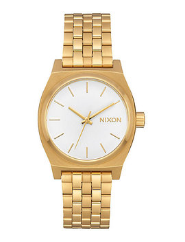 Nixon Medium Time Teller All Gold & White Analog Watch by Nixon Watches