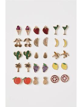 15 Pairs Stud Earrings by H&M