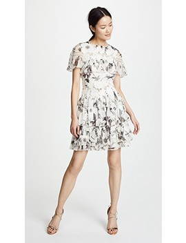 Paola Ruffle Dress by Alice + Olivia