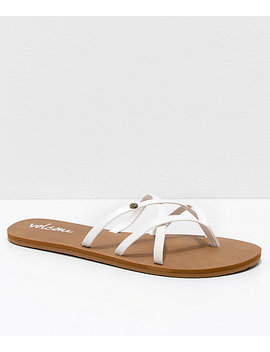 Volcom New School White Sandals by Volcom