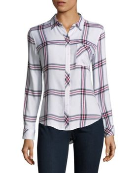 Hunter Tartan Button Down Shirt by Rails