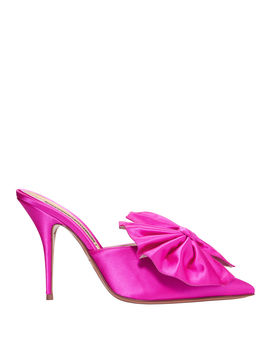 Kate Shocking Pink Mules by Alexandre Vauthier