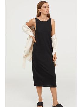 Kleid Aus Leinenmix by H&M