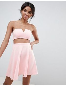 Asos Design Two Piece Mini Skater Dress by Asos Design