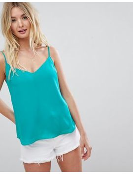Asos Design Fuller Bust Swing Cami With Double Layer by Asos Design