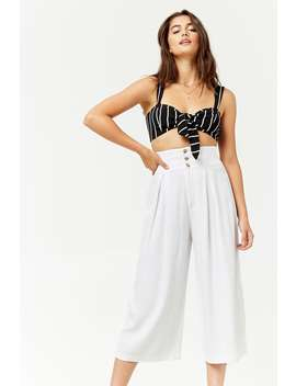 High Waist Culottes by F21 Contemporary