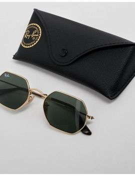 Ray Ban   0 Rb3556 N   Occhiali Da Sole Esagonali by Asos