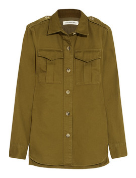 Obrian Cotton Twill Shirt by Isabel Marant Étoile