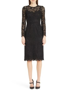 Lace Sheath Dress by Dolce&Gabbana