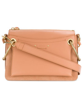 Roy Shoulder Baghome Women Bags Satchels & Cross Body Bags White Han 30 Leather Open Toe Mule Roy Shoulder Bag by Chloé