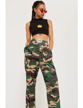 Camouflage Joggers By New Girl Order by Topshop