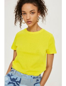 Boxy Cropped T Shirt by Topshop