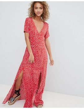 Miss Selfridge Polka Dot Maxi Dress by Miss Selfridge