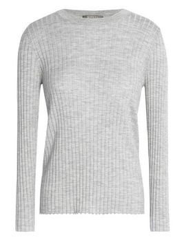 Ribbed Cashmere And Silk Blend Sweater by N.Peal
