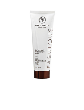 Medium Fabulous Self Tanning Tinted Lotion by Vita Liberata
