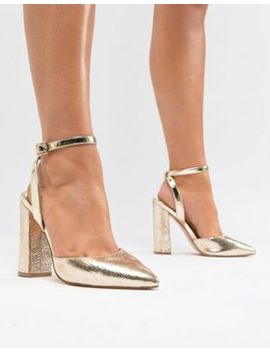 River Island Wide Fit Point Sling Back by River Island