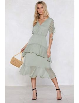It's Getting Dot In Here Midi Dress by Nasty Gal