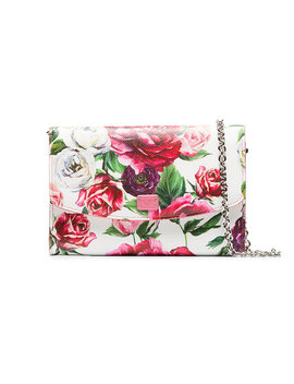 Floral Print Wallet Clutch Baghome Women Bags Clutch Bags by Dolce & Gabbana