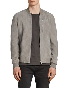 Kemble Suede Bomber Jacket by Allsaints