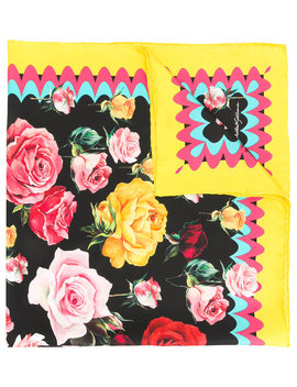 Floral Print Scarfhome Women Accessories Scarves by Dolce & Gabbana