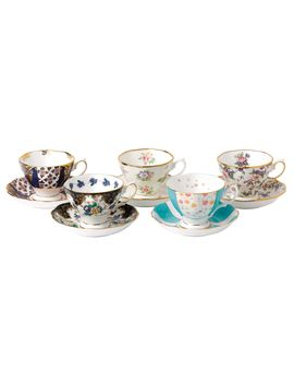 100 Years 10 Piece Set (1900 1940) by Royal Albert