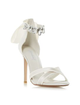 Morgen Jewel Ankle Strap Sandals by Dune
