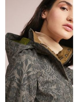 Printed Trench Coat by Feller
