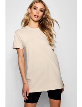 Kayleigh Oversized Cuff T Shirt by Boohoo