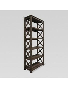 5 Shelf X Bookcase   Threshold™ by Shop This Collection