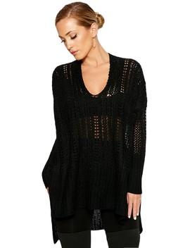 Knit It & Quit It Sweater by Naked Wardrobe