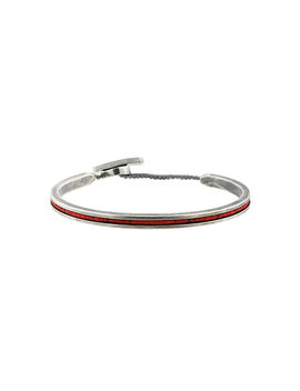Red Cuff Bracelethome Men Jewellery Bracelets by M. Cohen