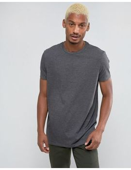 Asos   T Shirt Girocollo Lunga Antracite by Asos